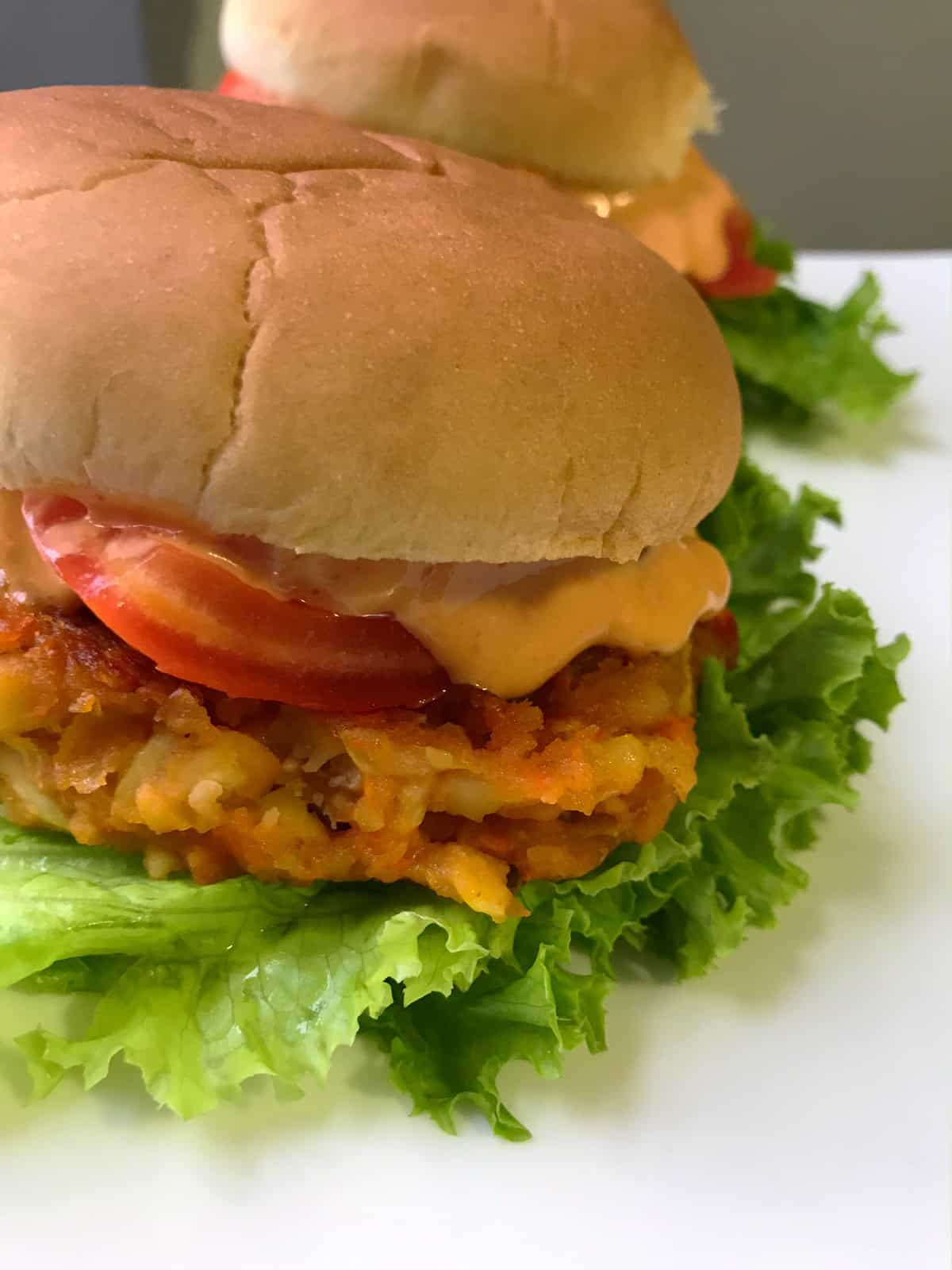 Brooklyn-inspired Chickpeas Veggie Burger