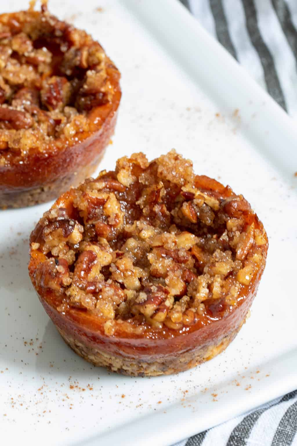 Mini Sweet Potato Pecan Pies