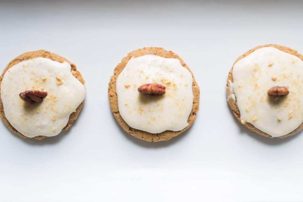Pumpkin Cheesecake Vegan Cookies