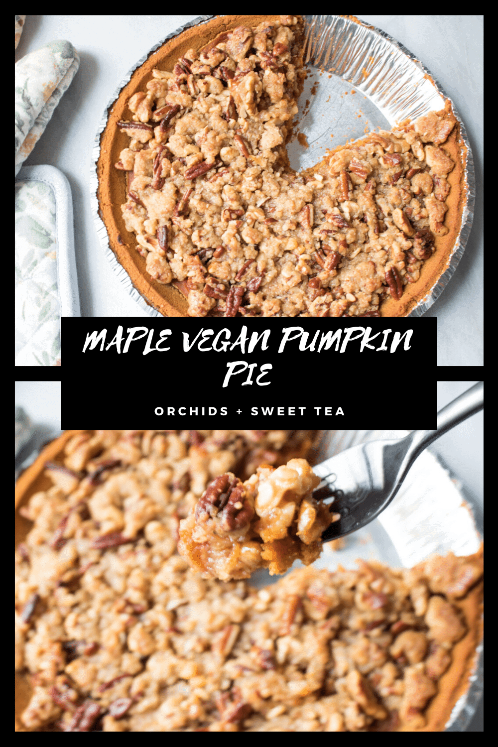 MAPLE VEGAN PUMPKIN PIE