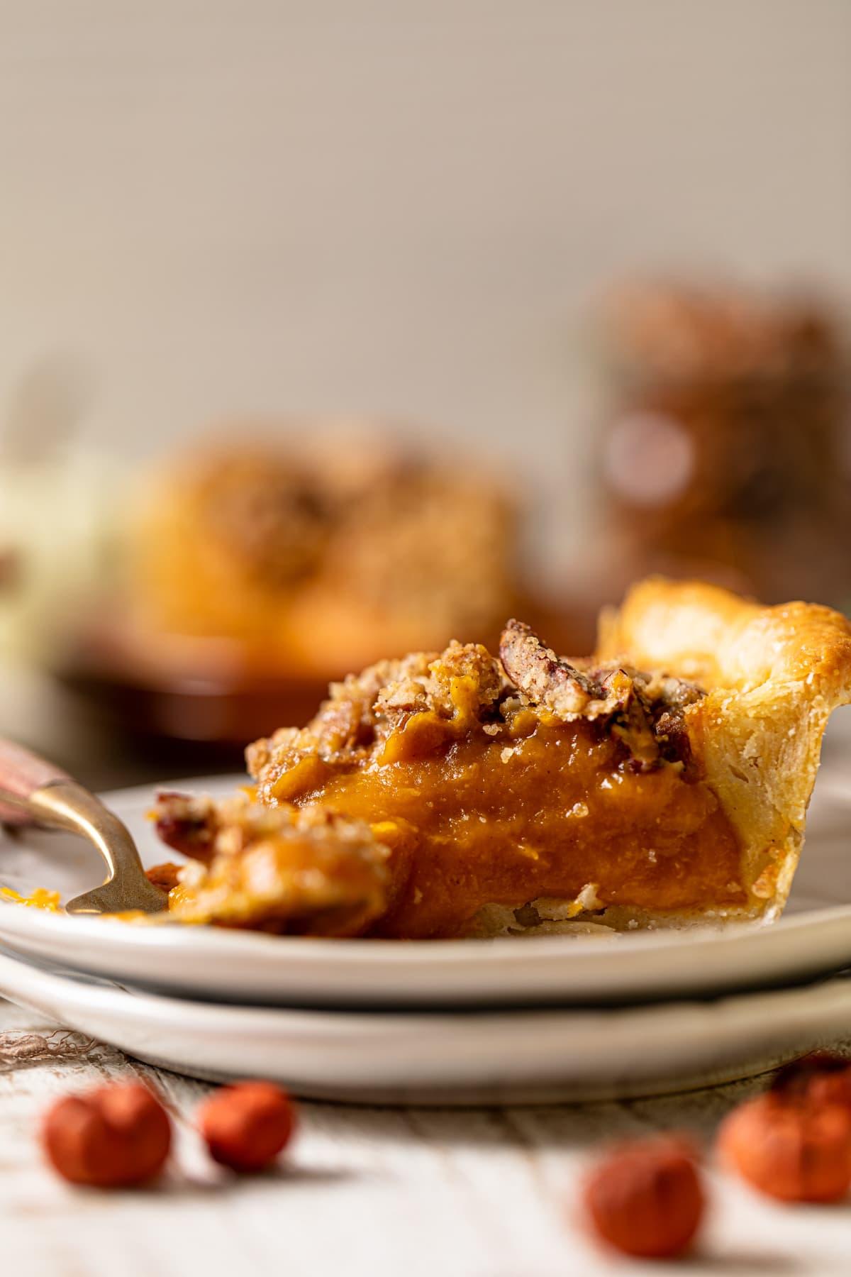 Vegan Maple Pumpkin Pie