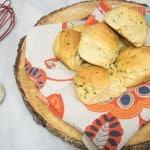 Post Thanksgiving: Garlic Herb Dinner Rolls + Bob Red Mills