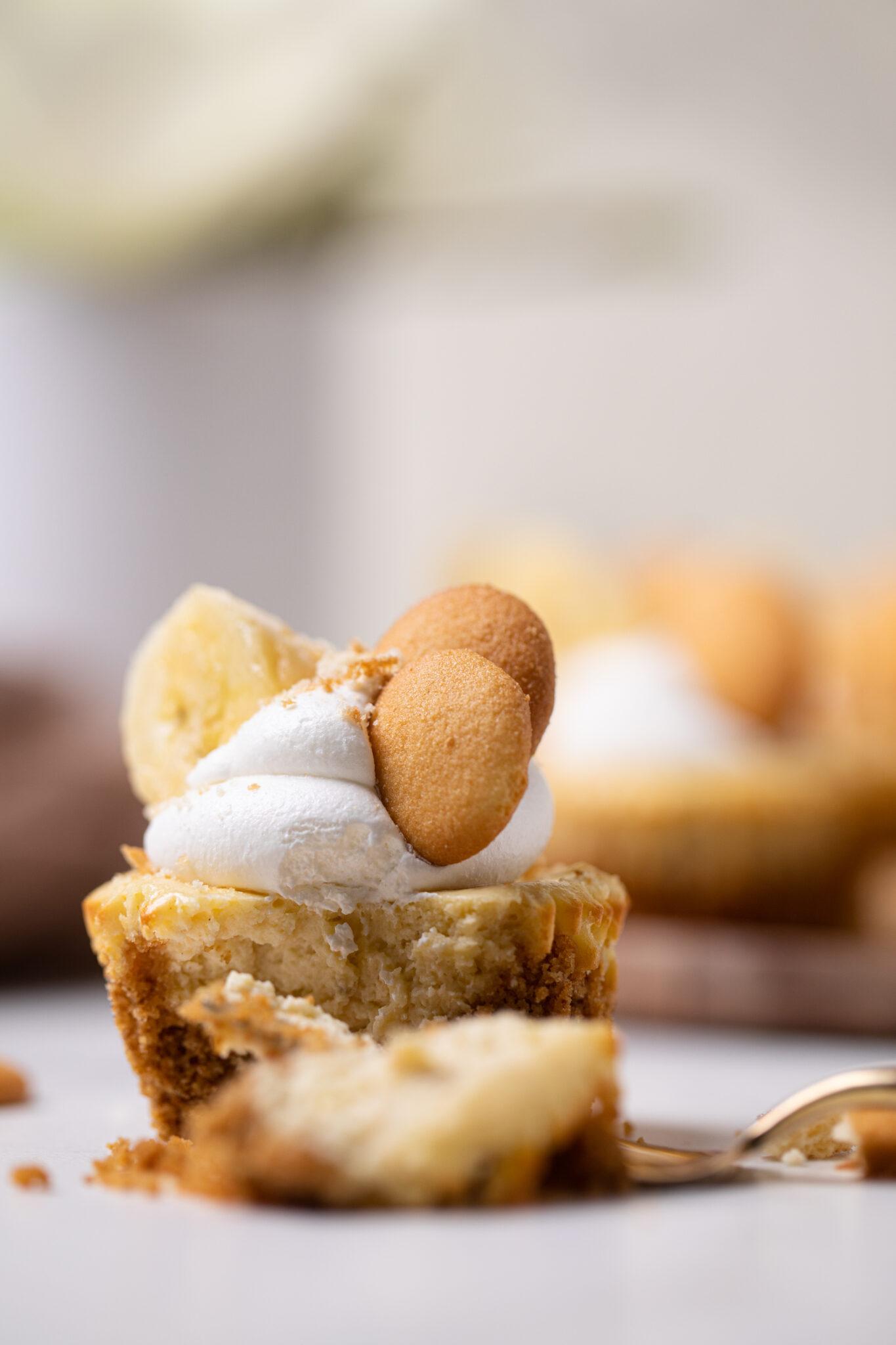 Banana Pudding Cheesecake Bites