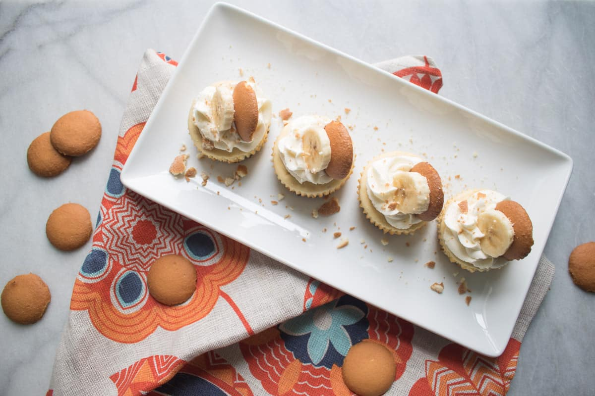 Southerner's Banana Pudding Cheesecake Bites
