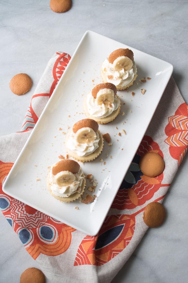 Southerner's Banana Pudding Cheesecake Bites
