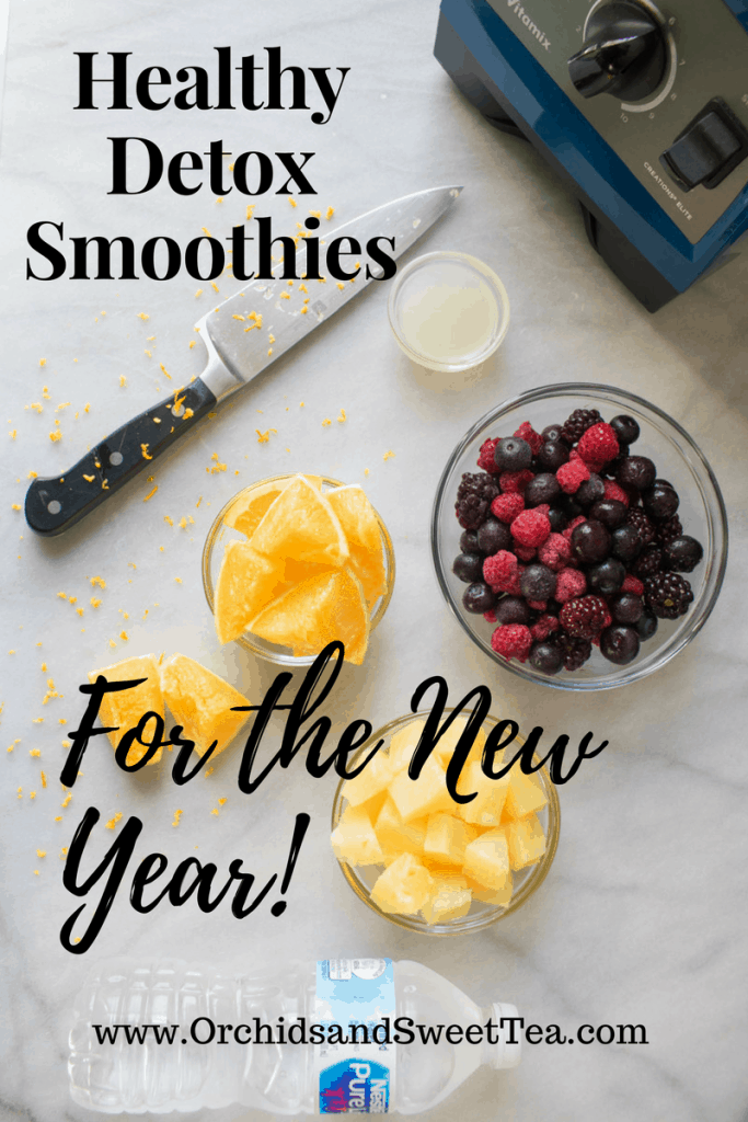Healthy Detox Smoothies for the New Year