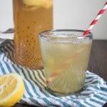 Natural Homemade Lemon Ginger Ale