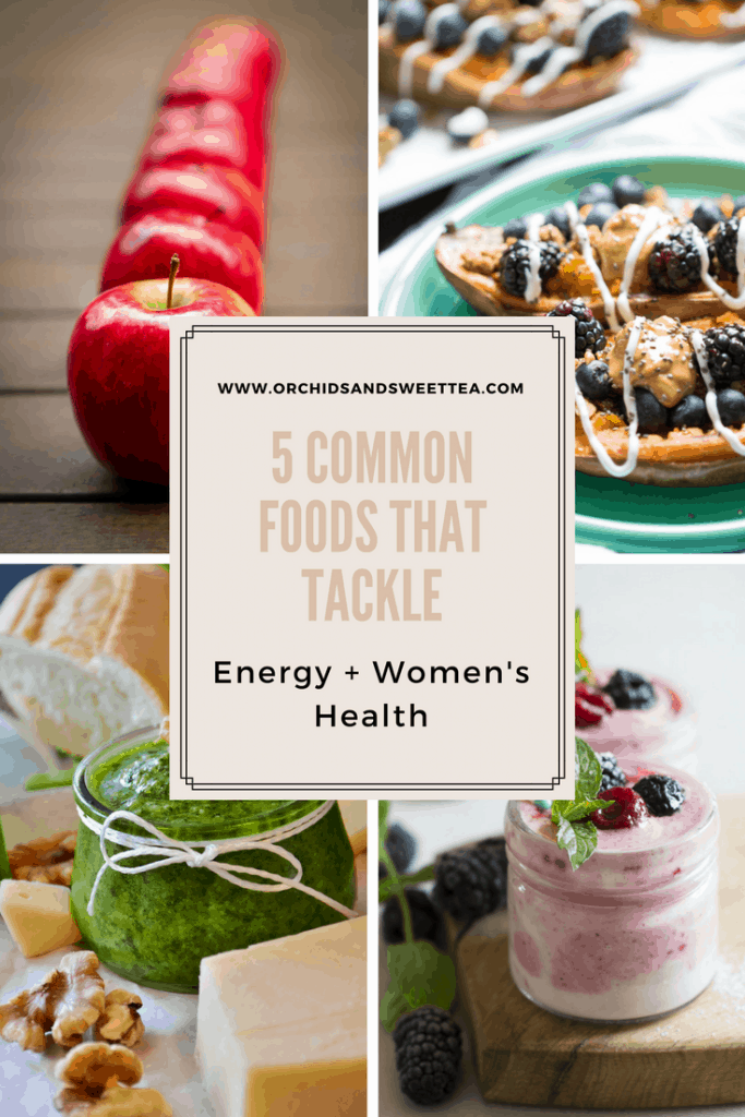 5 Common Foods That Tackle Energy + Women's Health
