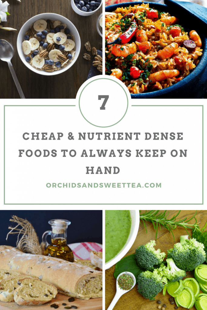 7 Cheap & Nutrient Dense Foods to Always Keep on Hand