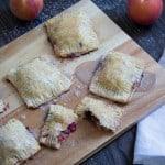Blackberry Peach Basil Hand Pies with Glaze