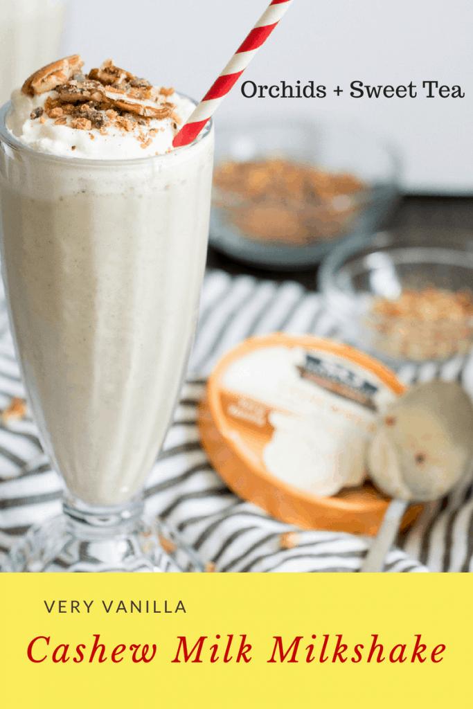 Very Vanilla Cashew Milk Milkshake