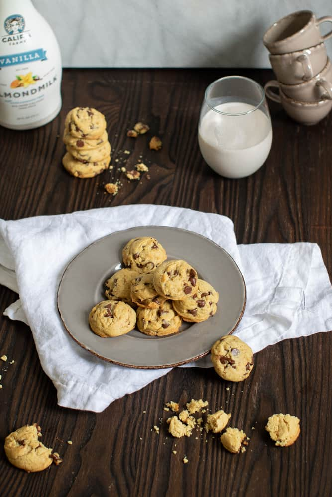 The Perfect Dairy-Free Chocolate Chip Cookies