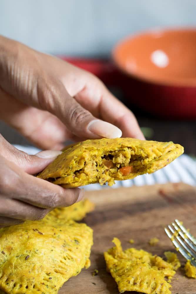 Spicy Jamaican Lentil + Quinoa Vegan Patties