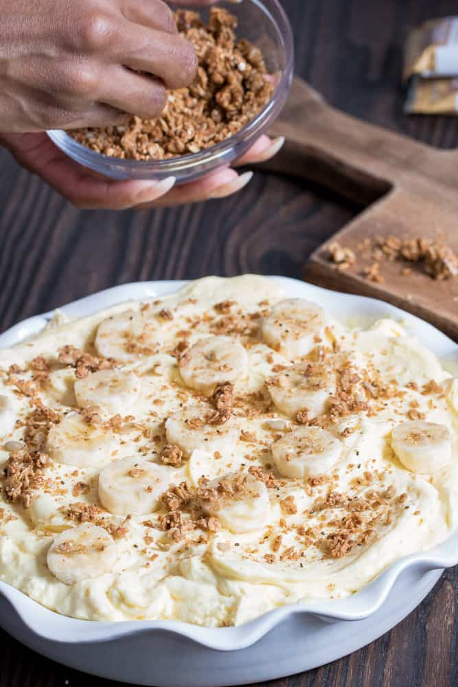 Southern Banana Pudding Cream Pie