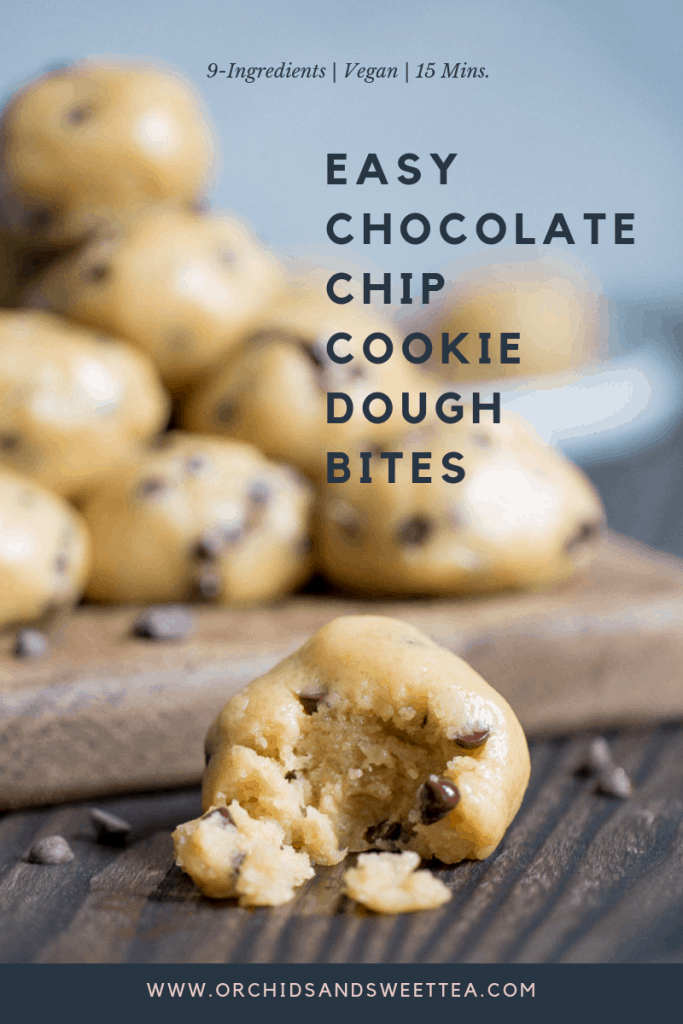 Easy Chocolate Chip Cookie Dough Bites