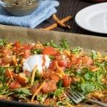 Vegan Sweet Potato Sheet Pan 'Nachos'