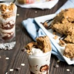 SunButter Oatmeal Chocolate Chip Deconstructed Brownies