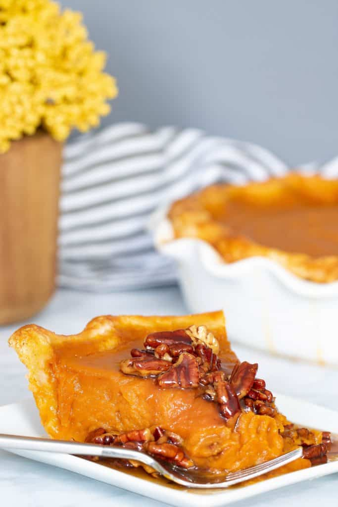 Delicious Vegan Pumpkin Pie