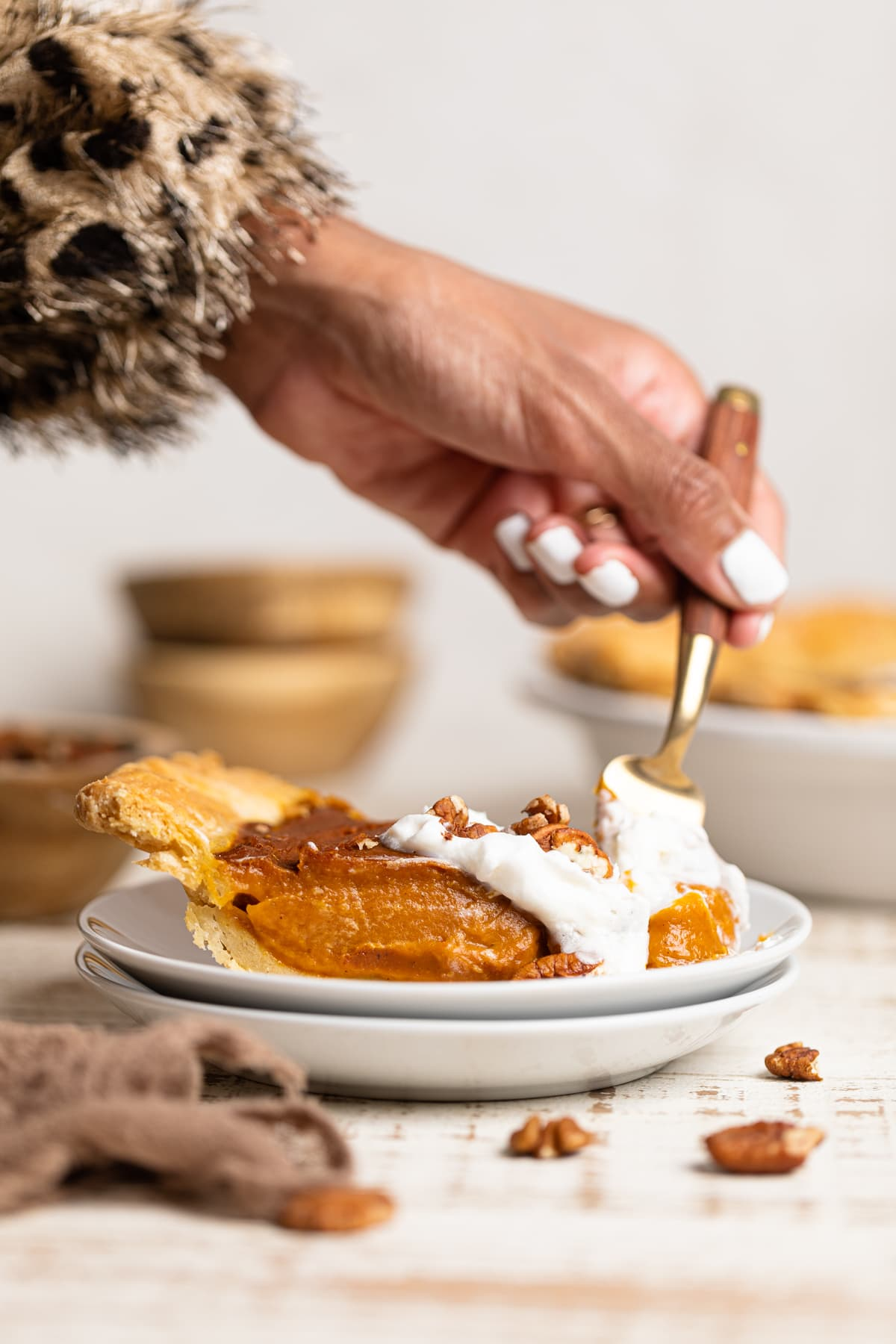 Delicious Vegan Pumpkin Pie