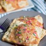 Strawberry Glazed Vegan Breakfast Pop Tarts