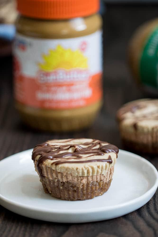 Vegan Chocolate + SunButter Cheesecake
