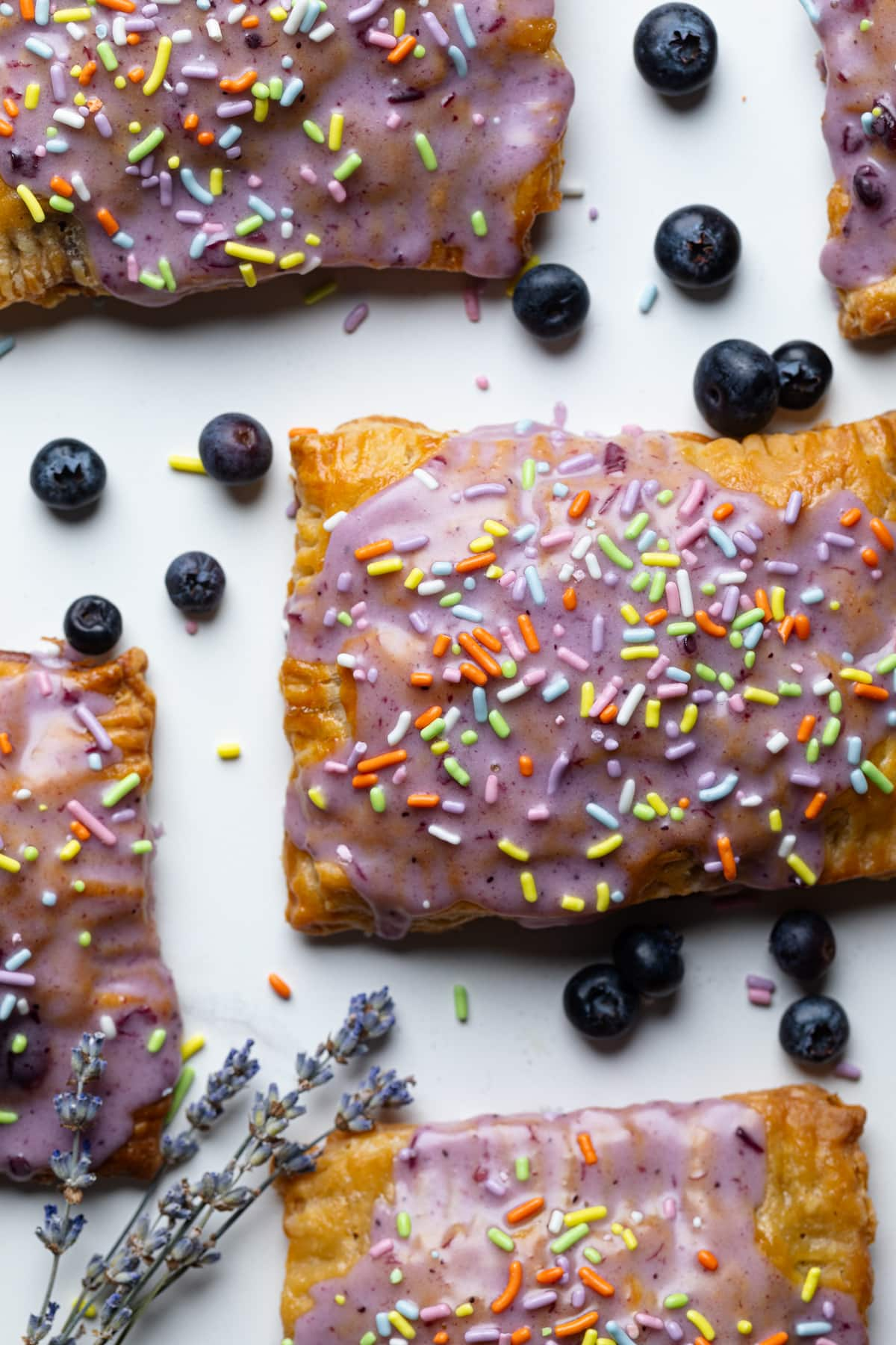 Homemade Blueberry Vegan Pop Tarts