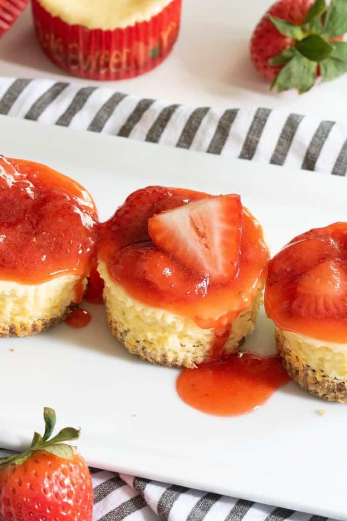 Not So Classic New York-Style Cheesecake Bites