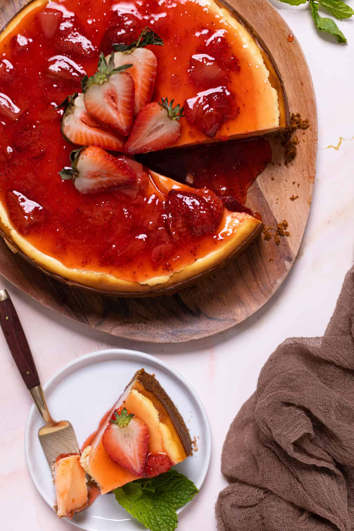 Not So Classic New York-Style Cheesecake