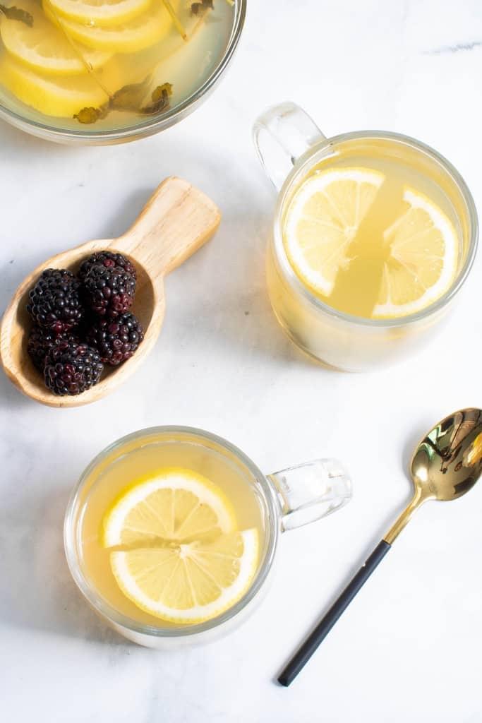 Lemon Blackberry Mint Tea