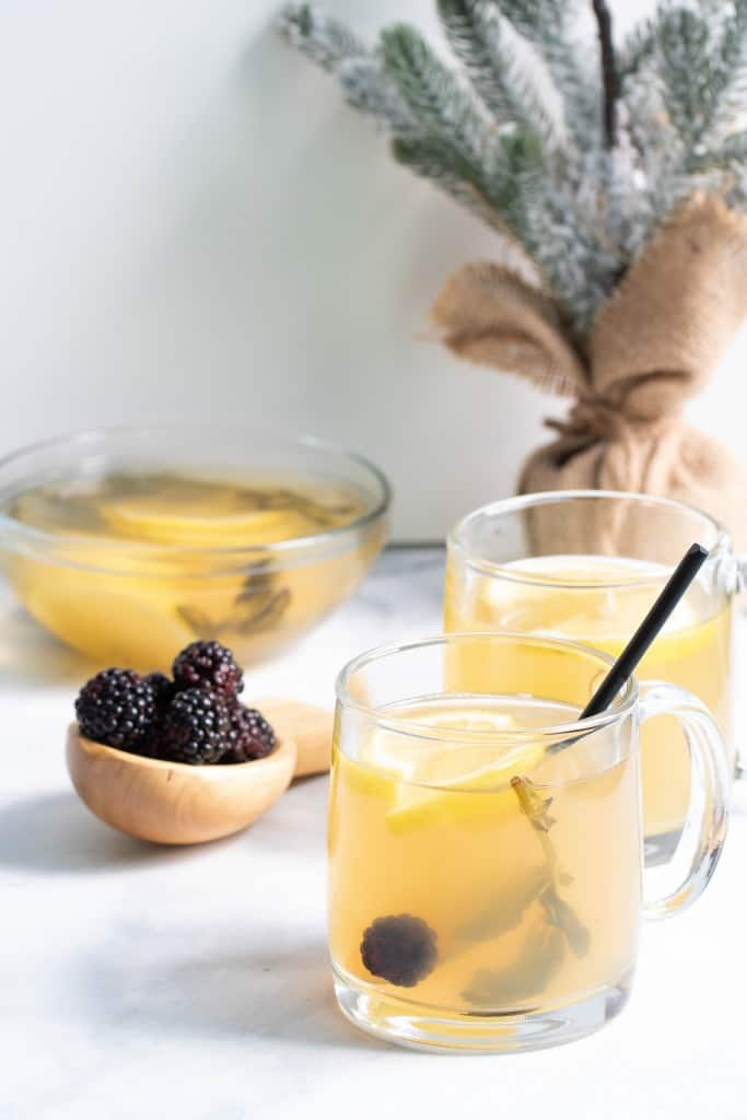 Lemon Blackberry Mint Tea
