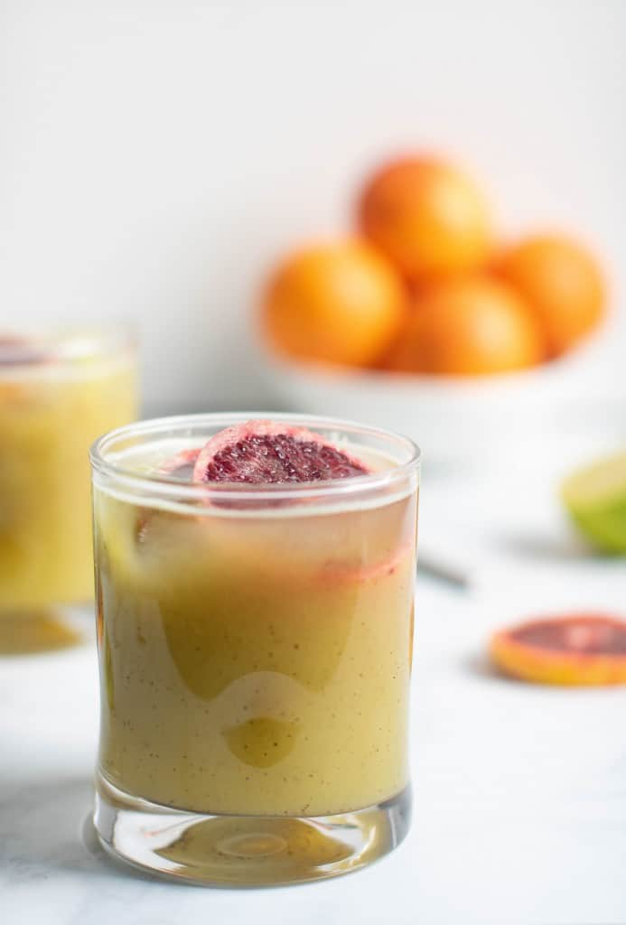 Healthy Blood Orange Kiwi Drink