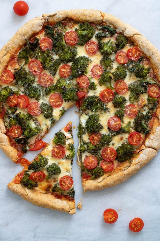The Ultimate Veggie Pizza