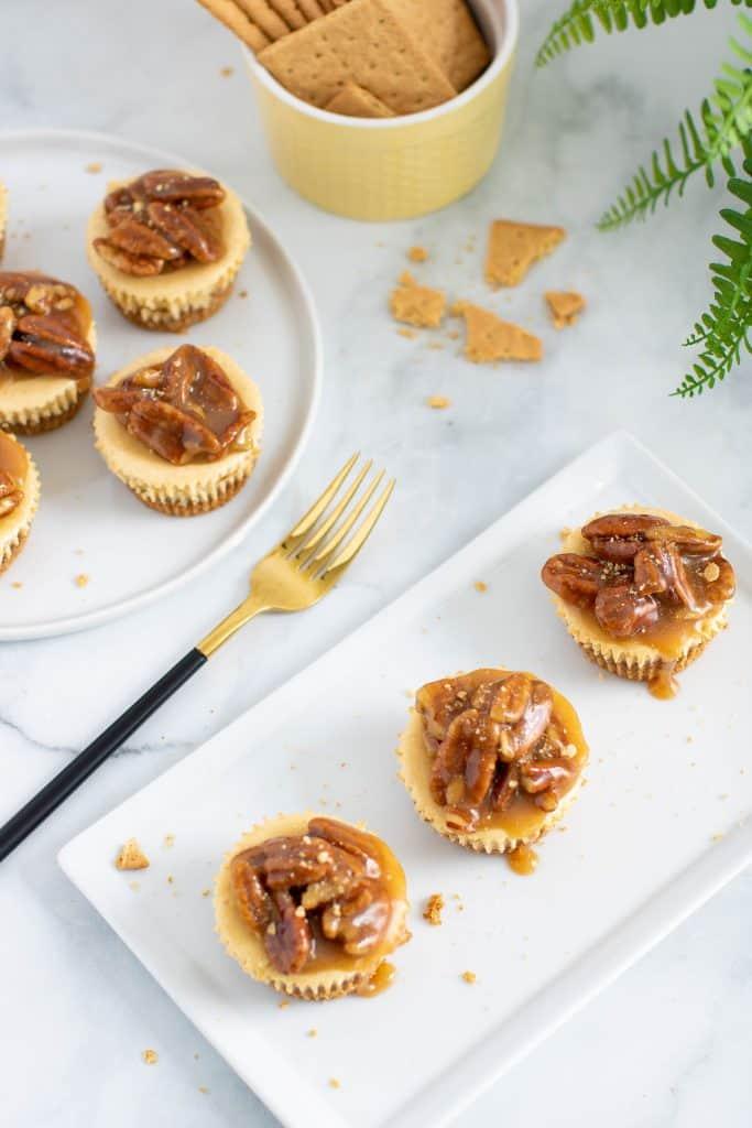 Delicious Pecan Pie Cheesecake Bites
