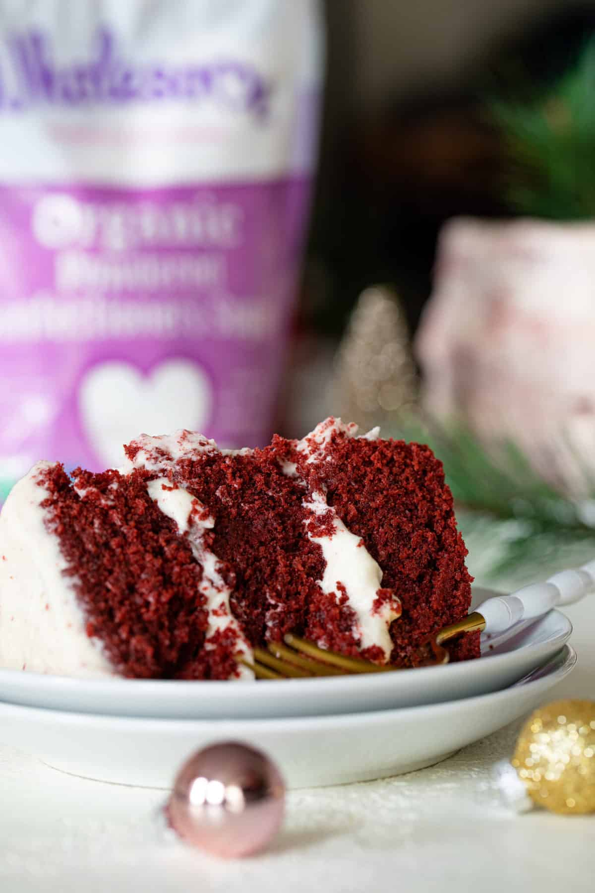 Vegan Red Velvet Cupcakes + Bourbon Vanilla Buttercream