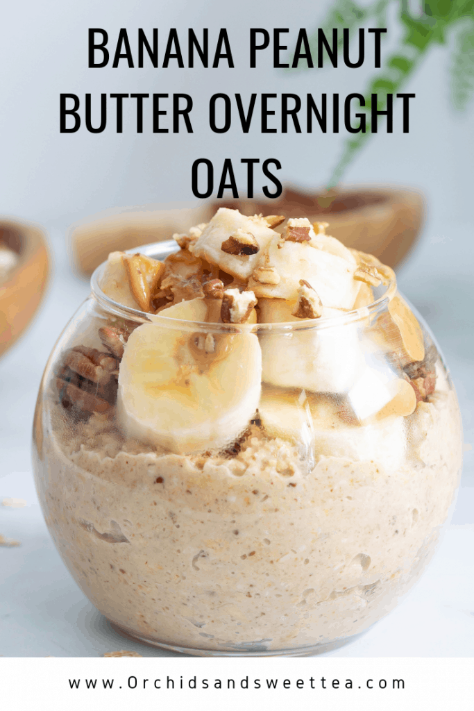 Banana Peanut Butter Overnight Oats