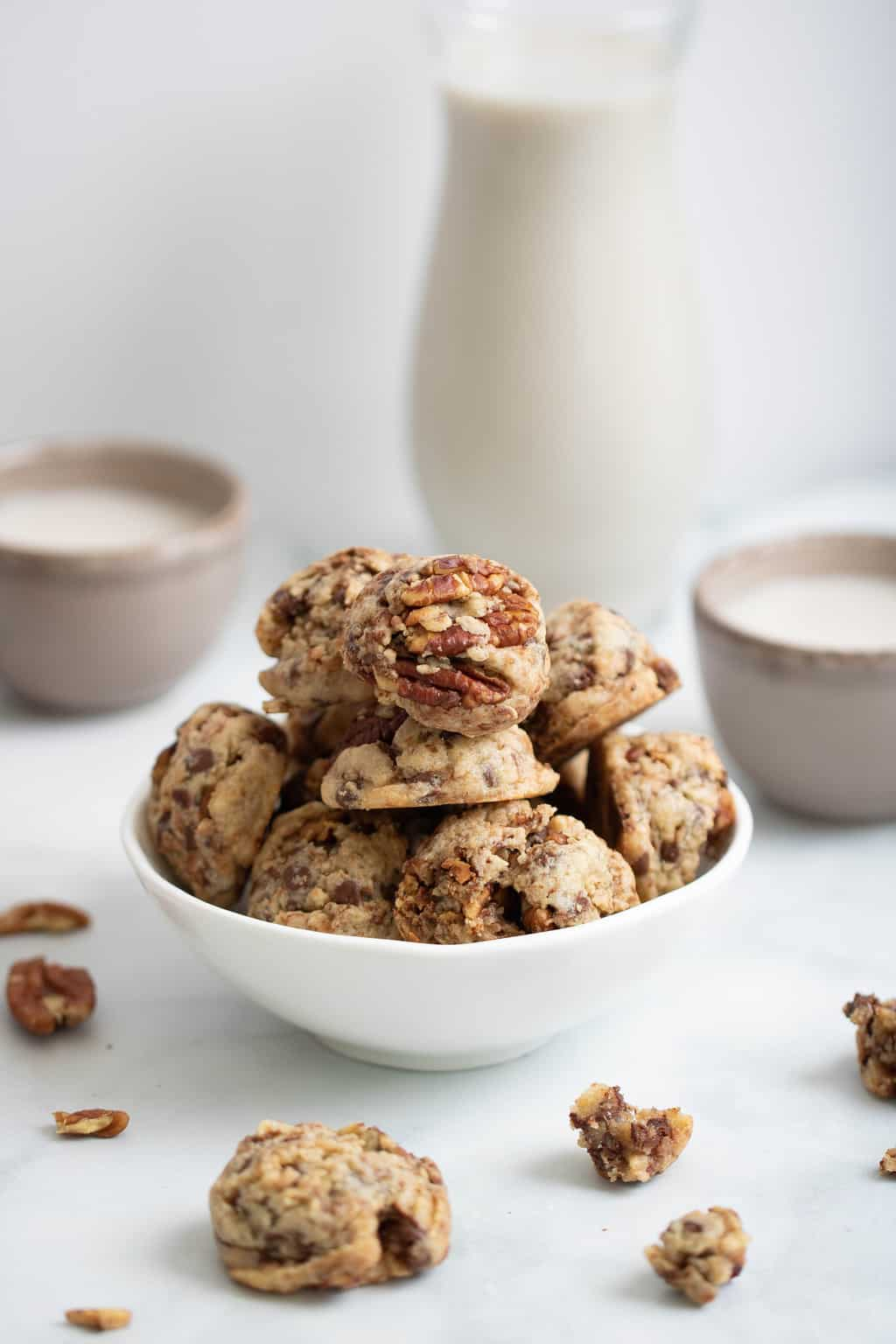 Dairy-Free Chocolate Chip Pecan Cookies