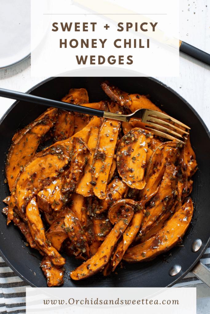 Sweet + Spicy Honey Chili Wedges