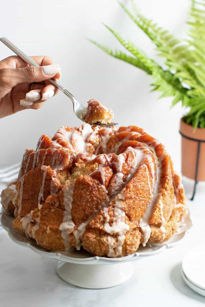 Dairy-Free Cinnamon Roll Monkey Bread