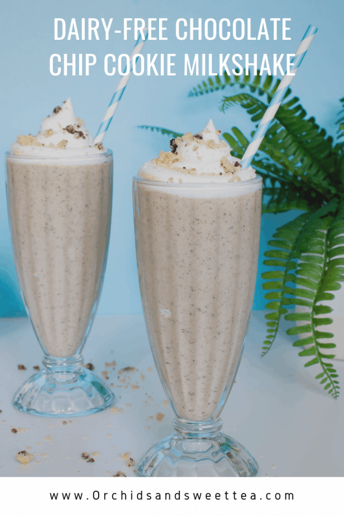 Dairy-Free Chocolate Chip Cookie Milkshake
