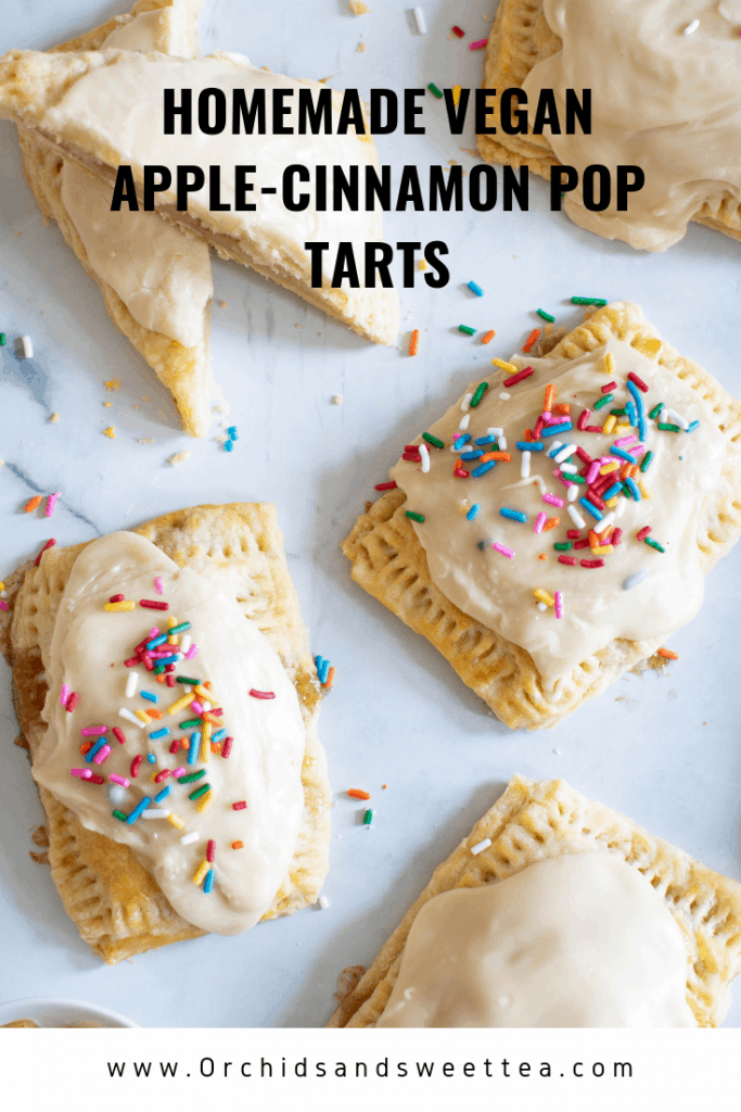 Homemade Vegan Apple-Cinnamon Pop Tarts