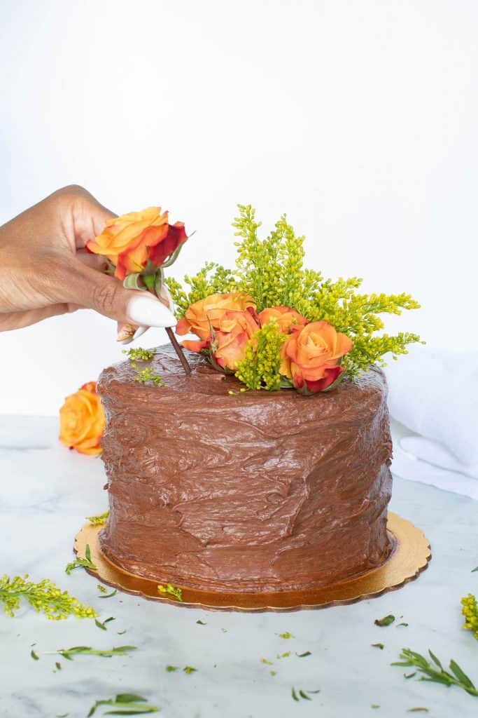 The Best Vegan Chocolate Cake + Chocolate Buttercream