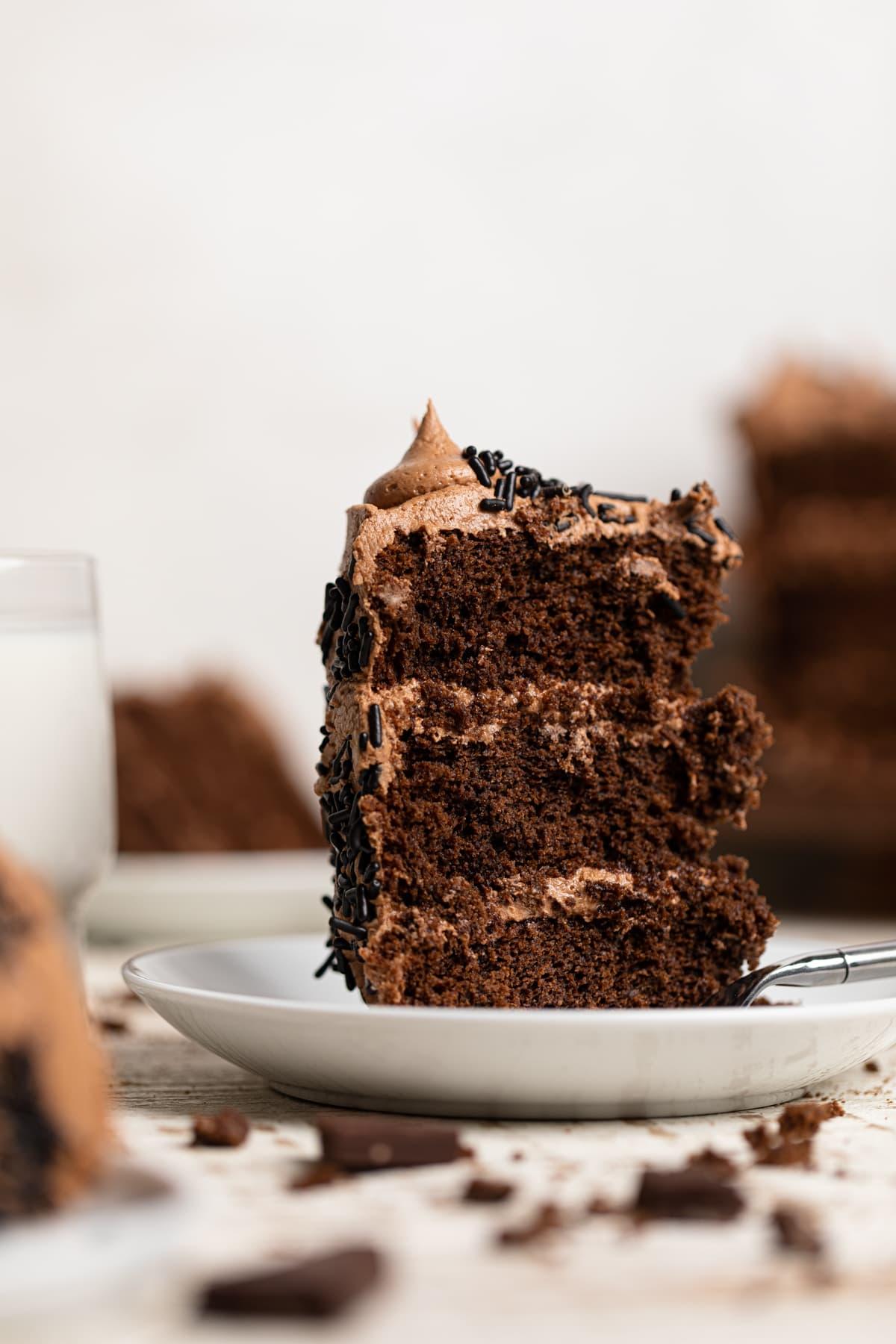 Easy Vegan Chocolate Cake