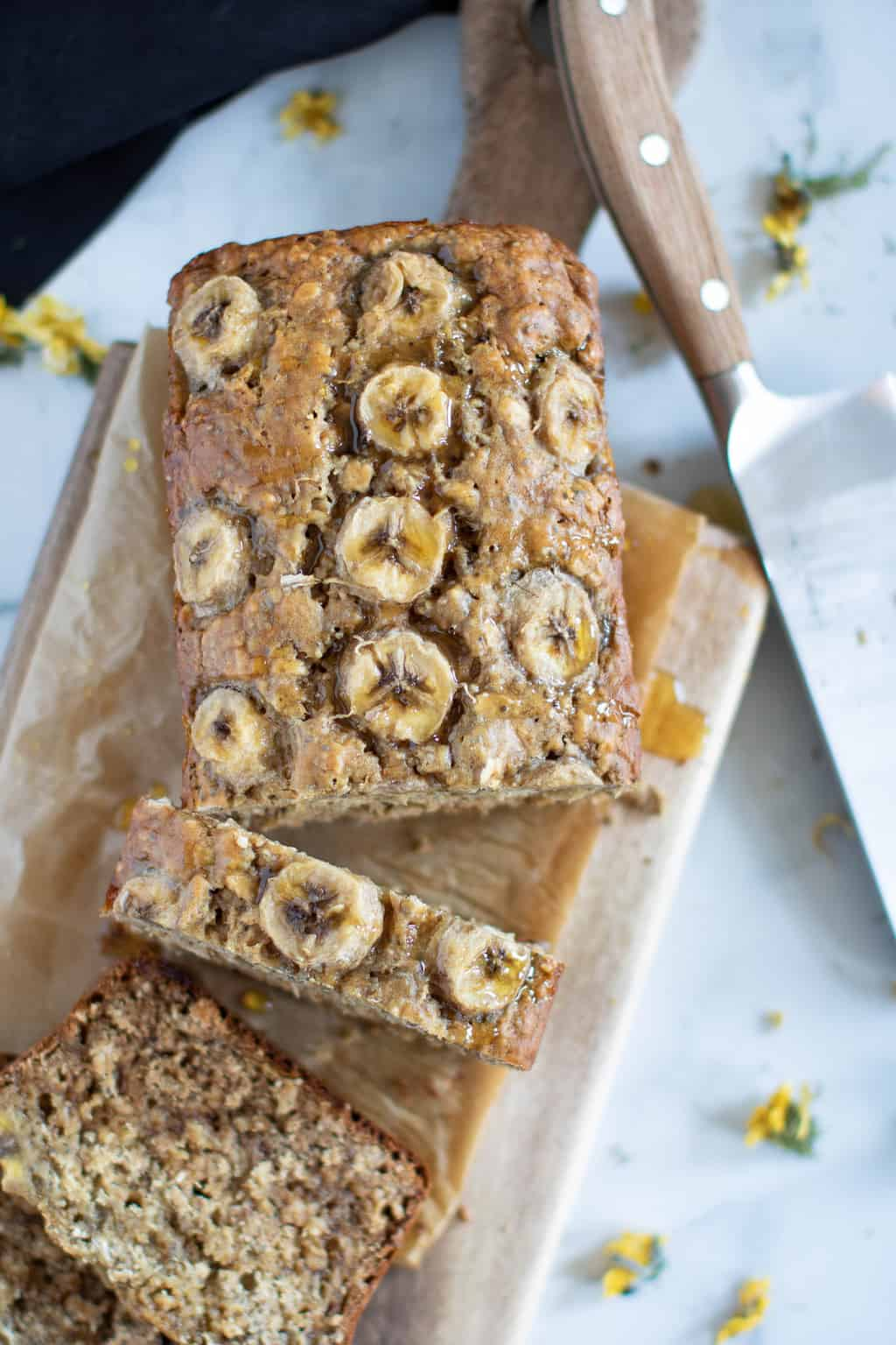 Vegan Chia Seed Maple Banana Bread