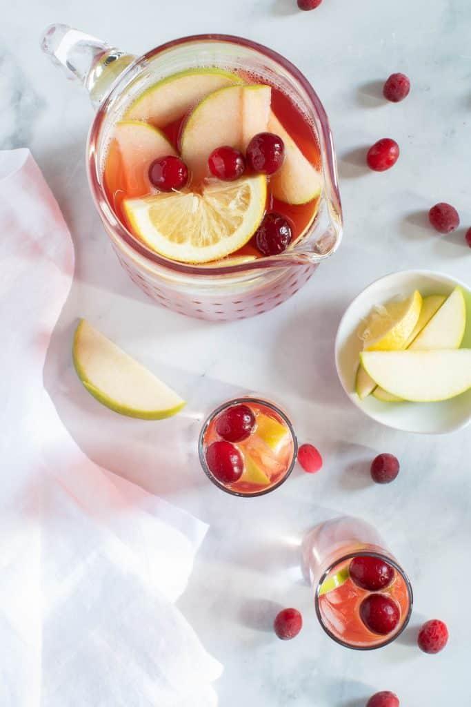 Apple Cranberry Ginger Lemon Detox Juice