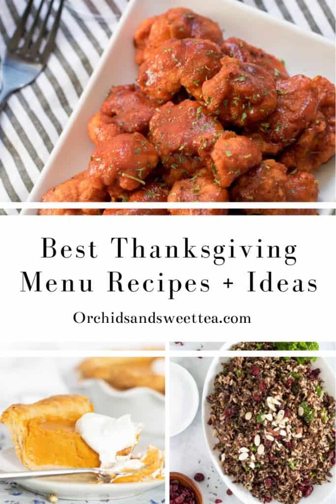 Best Thanksgiving Menu Recipes + Ideas