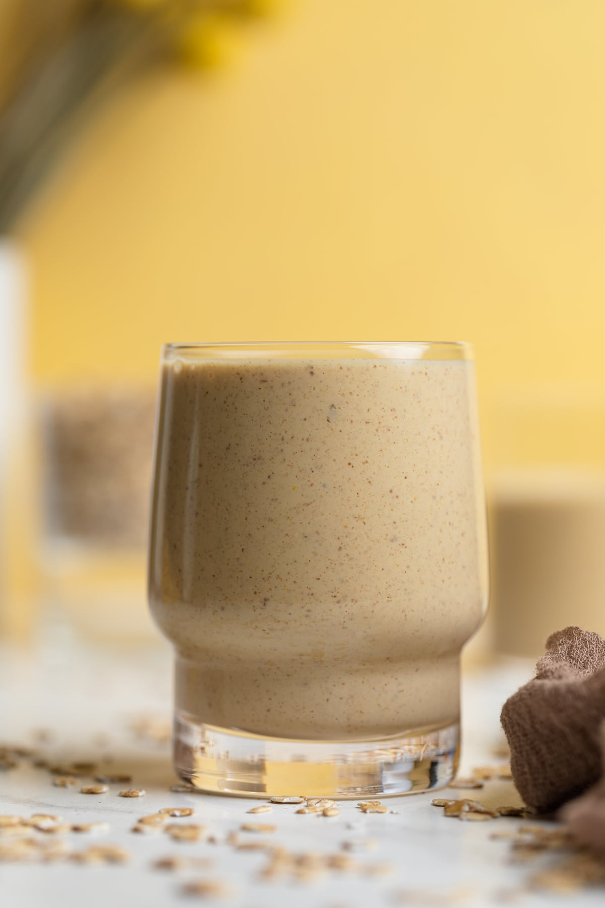 Easy Peanut Butter Banana Oats Smoothie