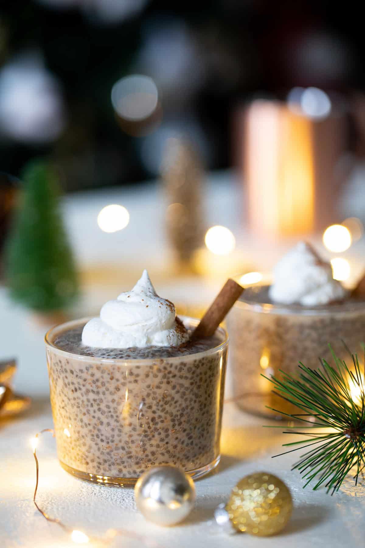 Easy Make Ahead Chai Latte Chia Pudding