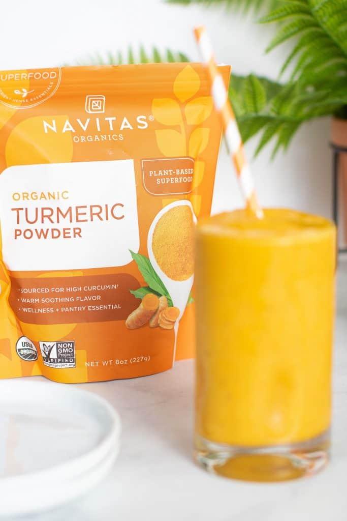 5-Ingredient Turmeric 'Wake Up' Smoothie