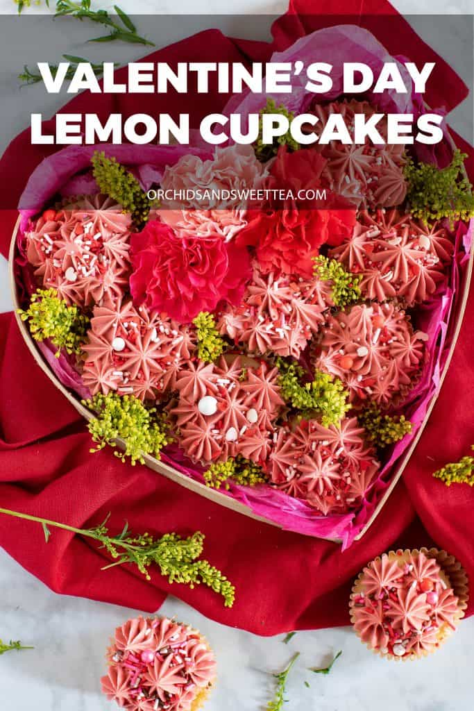 Valentin's Day Lemon Cupcakes