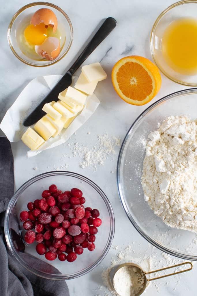 Cranberry Orange Breakfast Scones